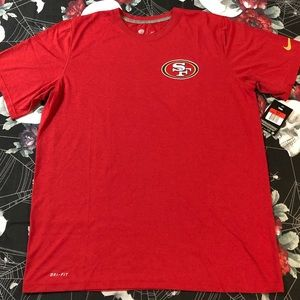 NIKE DRI-FIT PERFORMANCE SAN FRANCISCO 49ERS SHIRT